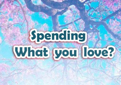 Spending What You LOVE